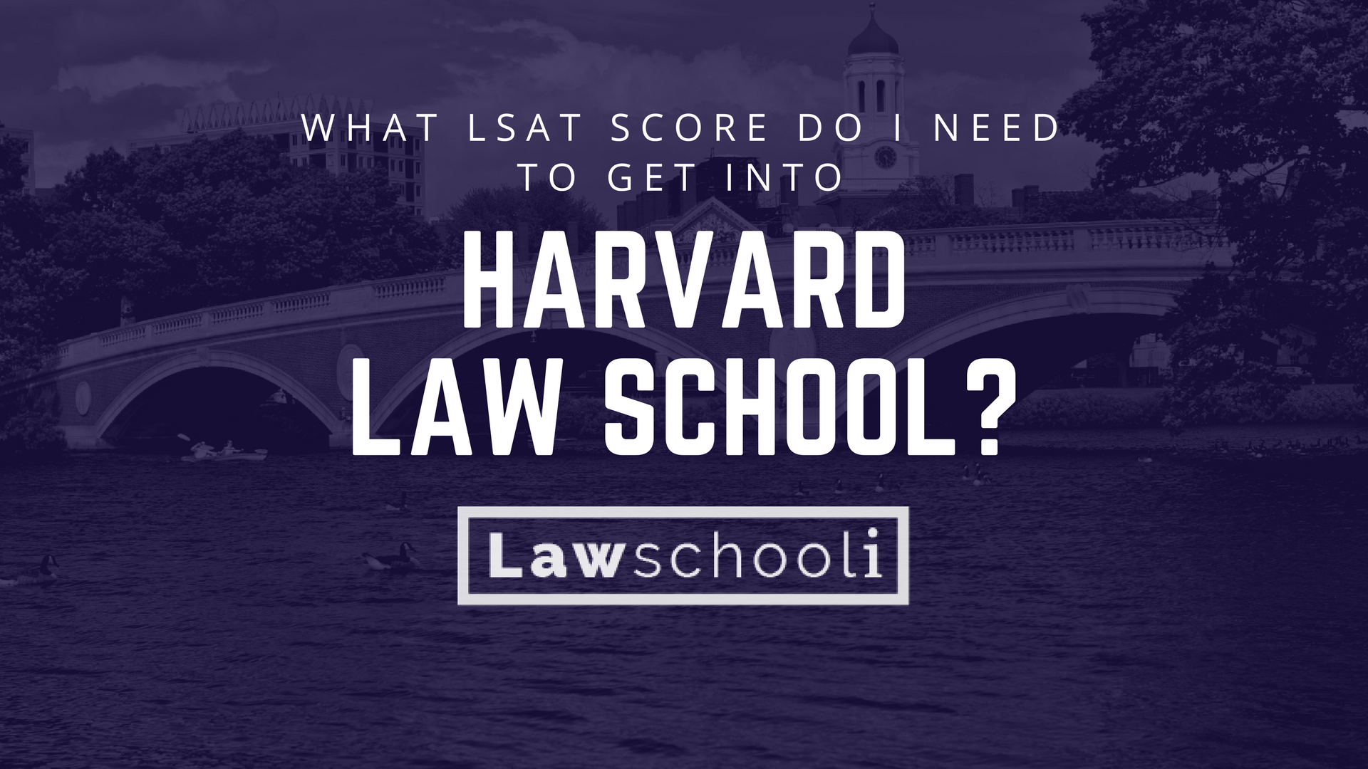 What LSAT score do I need to get into Harvard Law School