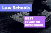 Law Schools with the Best Return on Investment