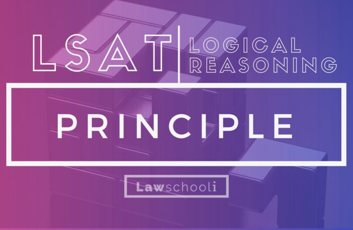 LSAT LR Principle Questions