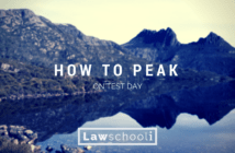How to Peak in LSAT Test Day